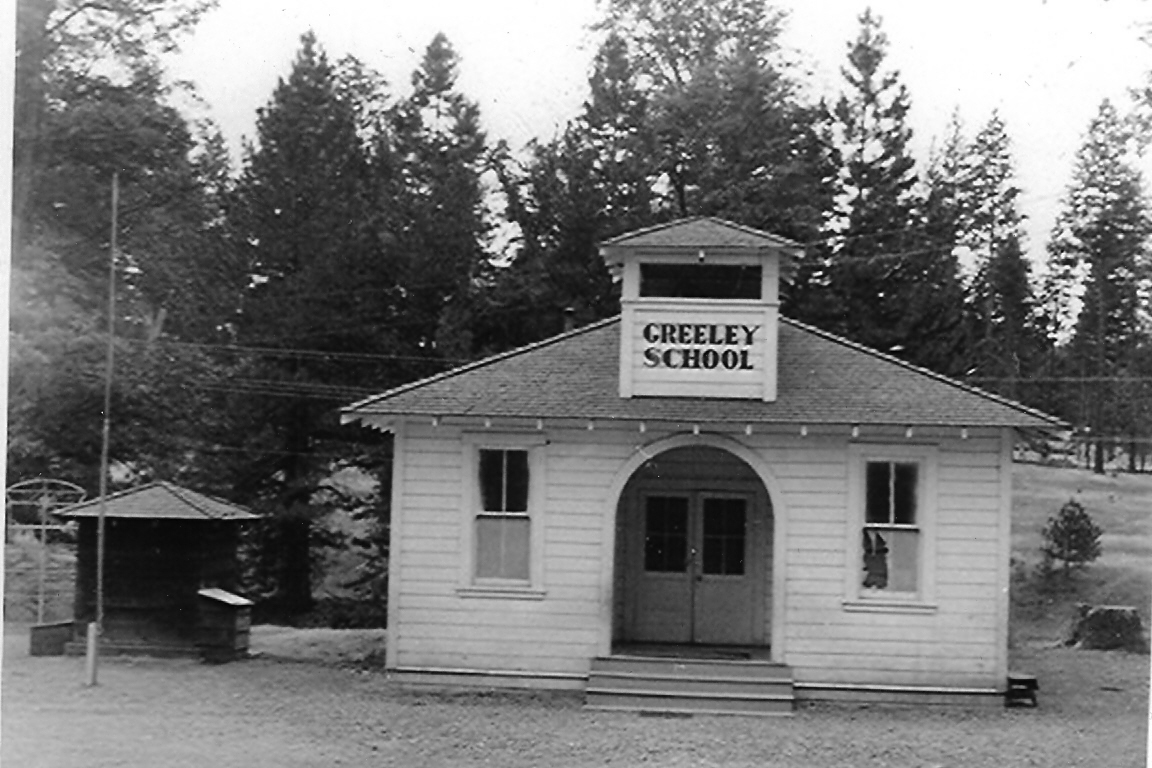 Greeley Hill School, Mariposa County