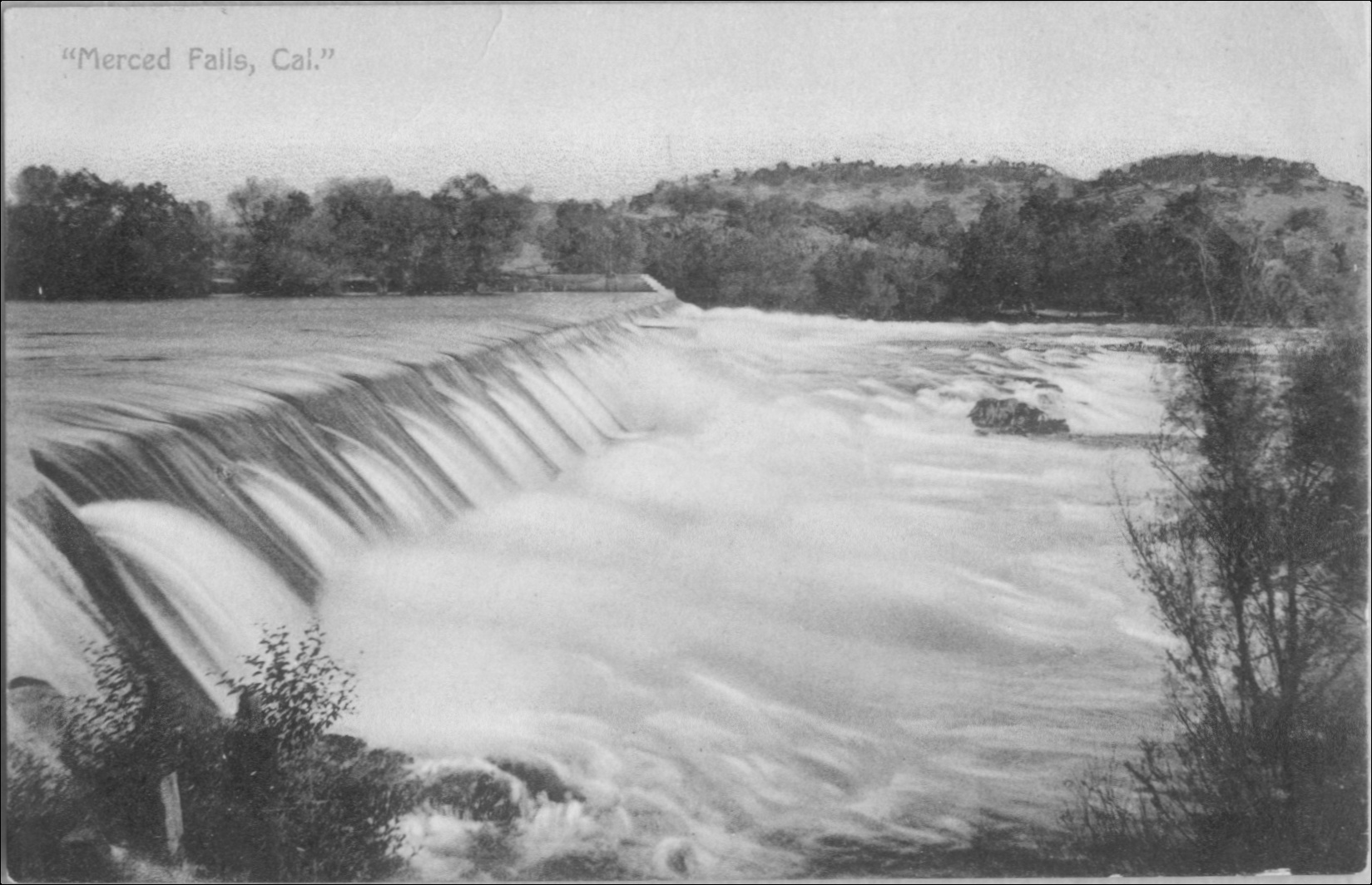 Crocker Huffman Dam, 1907